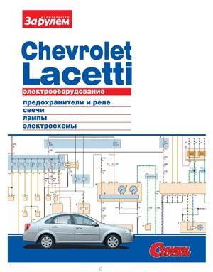 Электрооборудование Chevrolet Lacetti