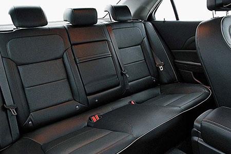 Задние сидения Chevrolet Malibu